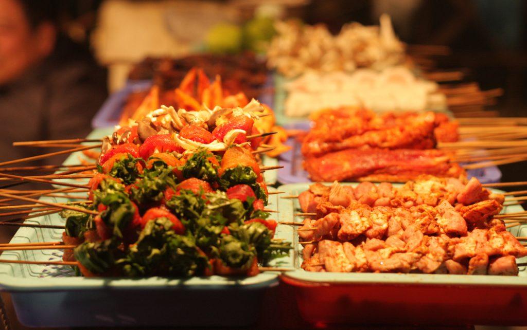 Thịt xiên nướng du lịch Sapa