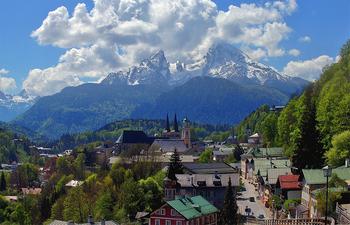 Ngôi làng Berchtesgaden đức